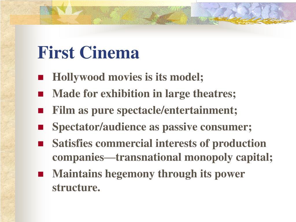 First Cinema