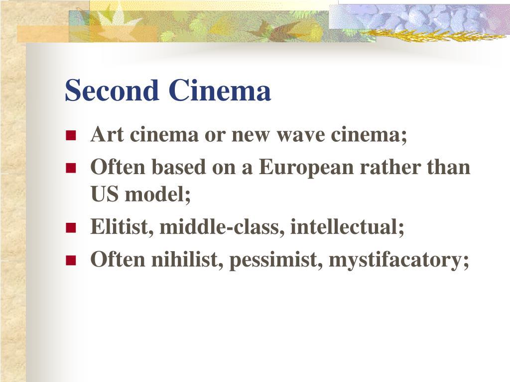 Second Cinema