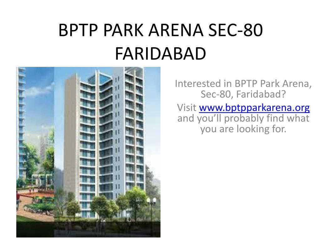 BPTP PARK ARENA SEC-80