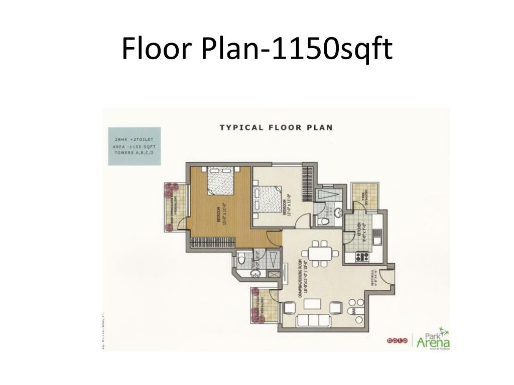 Floor Plan-1150sqft