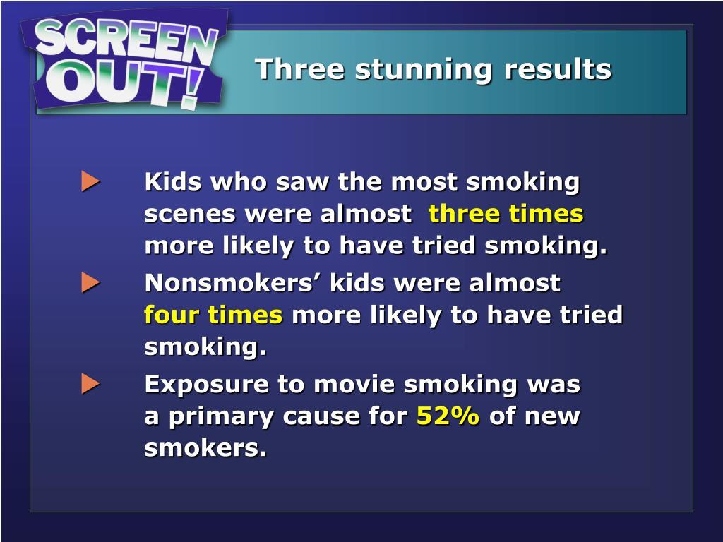 Three stunning results