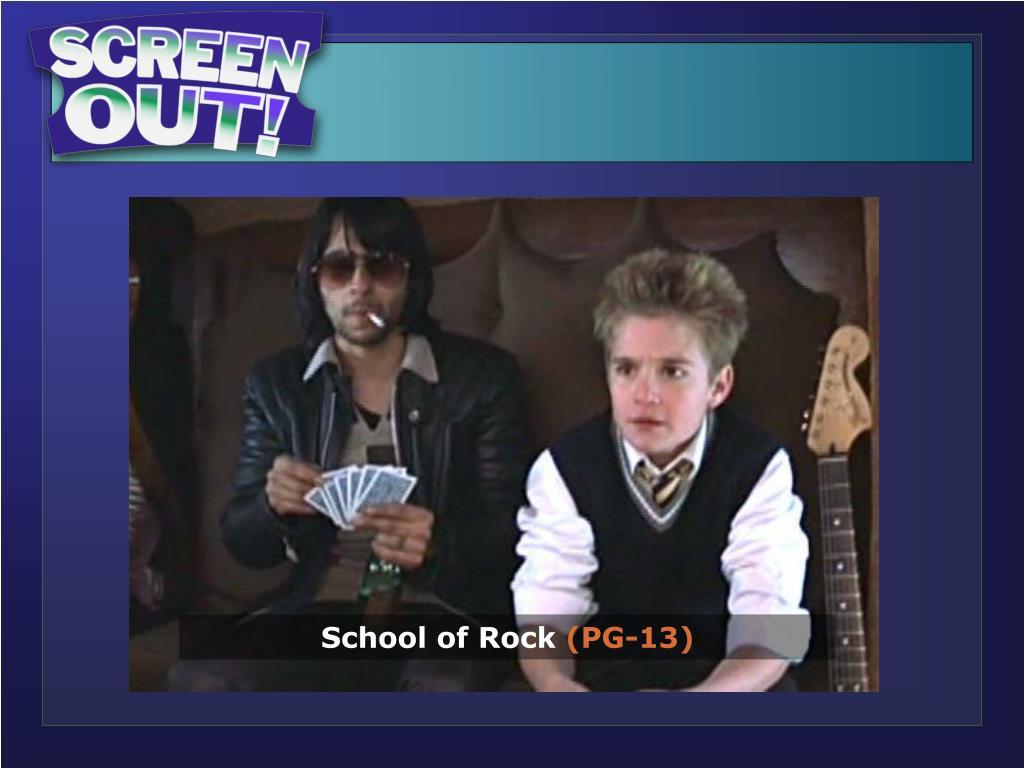 School of Rock…