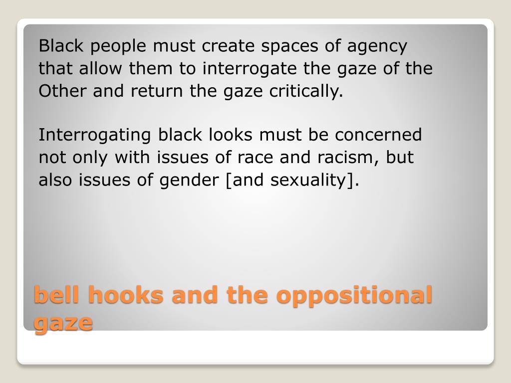 Black people must create spaces of agency