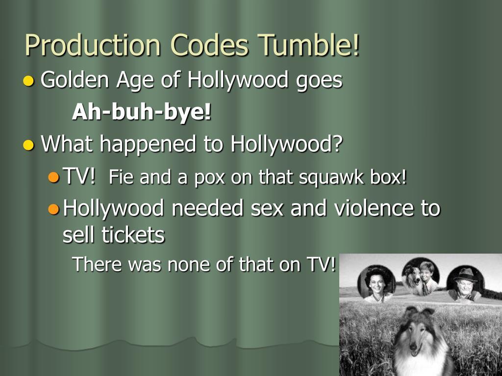 Production Codes Tumble!
