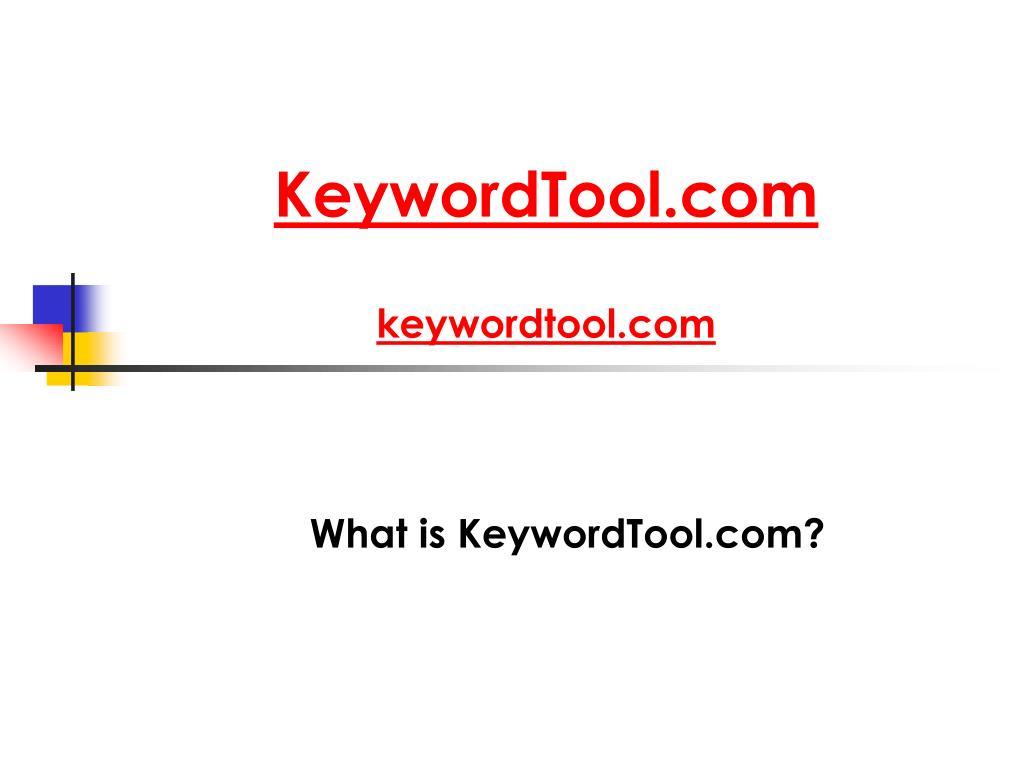 KeywordTool.com