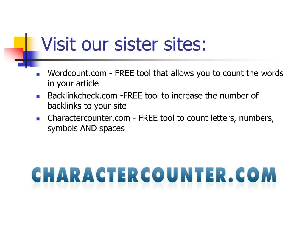Visit our sister sites: