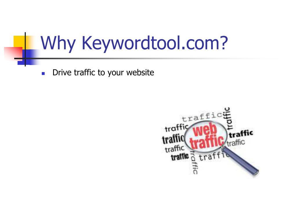 Why Keywordtool.com?