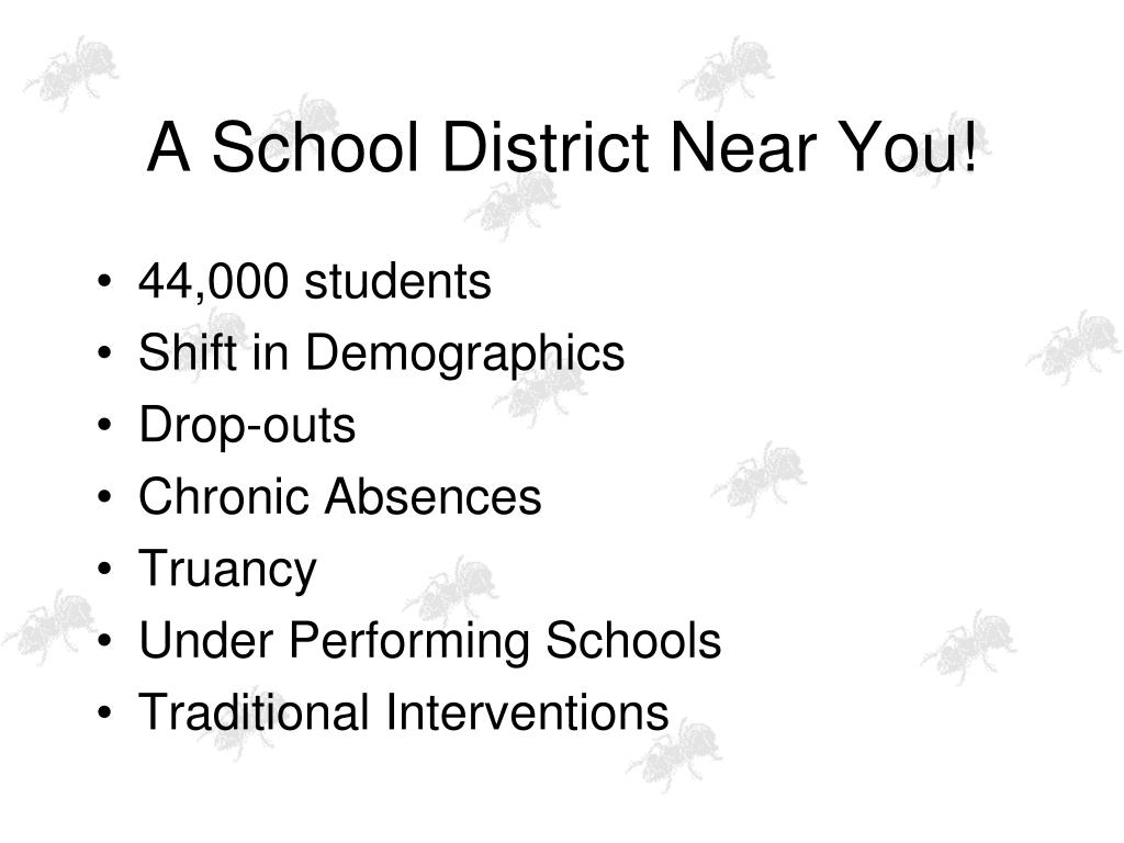 A School District Near You!