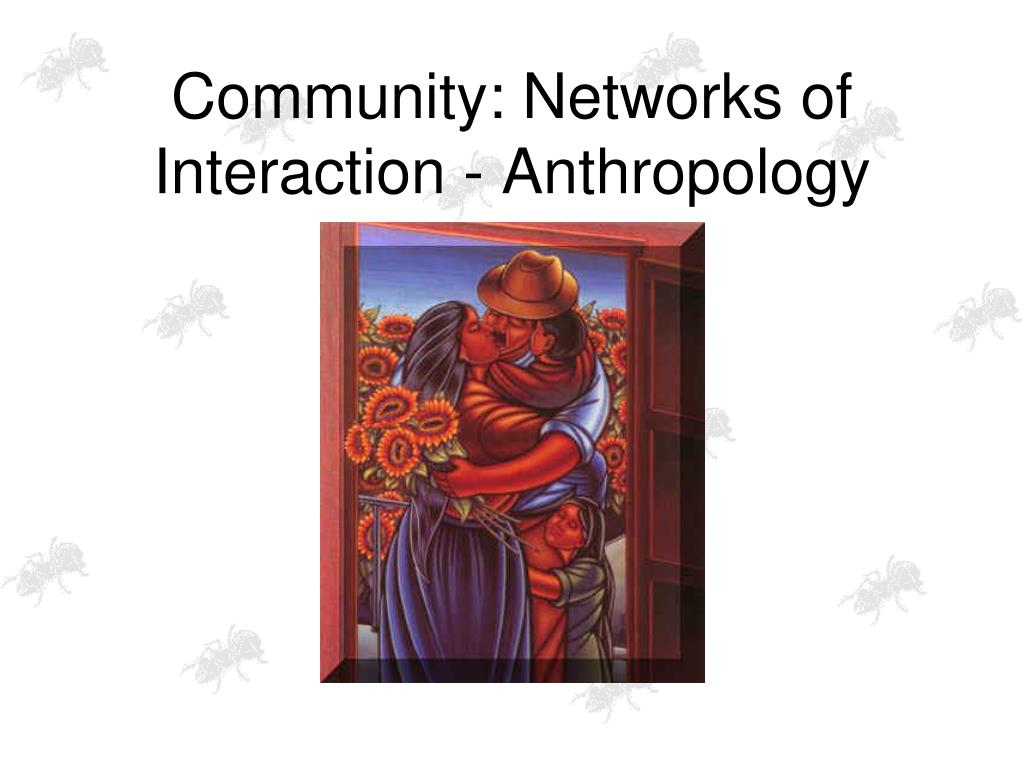 Community: Networks of Interaction - Anthropology