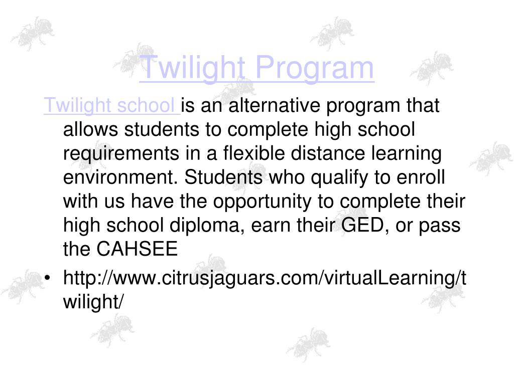 Twilight Program