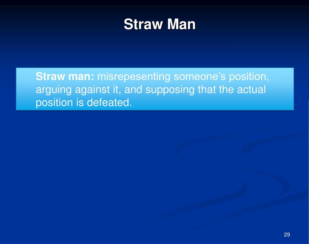 Straw Man
