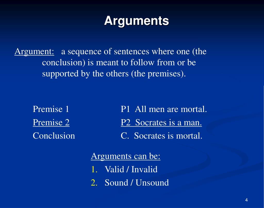 Argument: