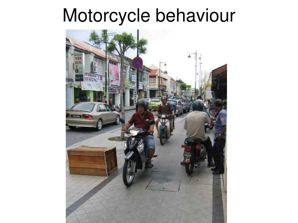 Motorcycle behaviour
