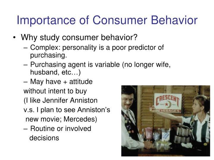 Importance of consumer behavior
