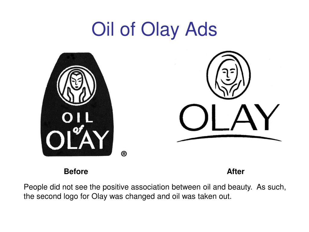 Oil of Olay Ads
