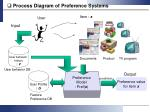 process diagram of preference systems