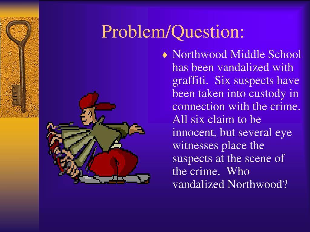 Problem/Question:
