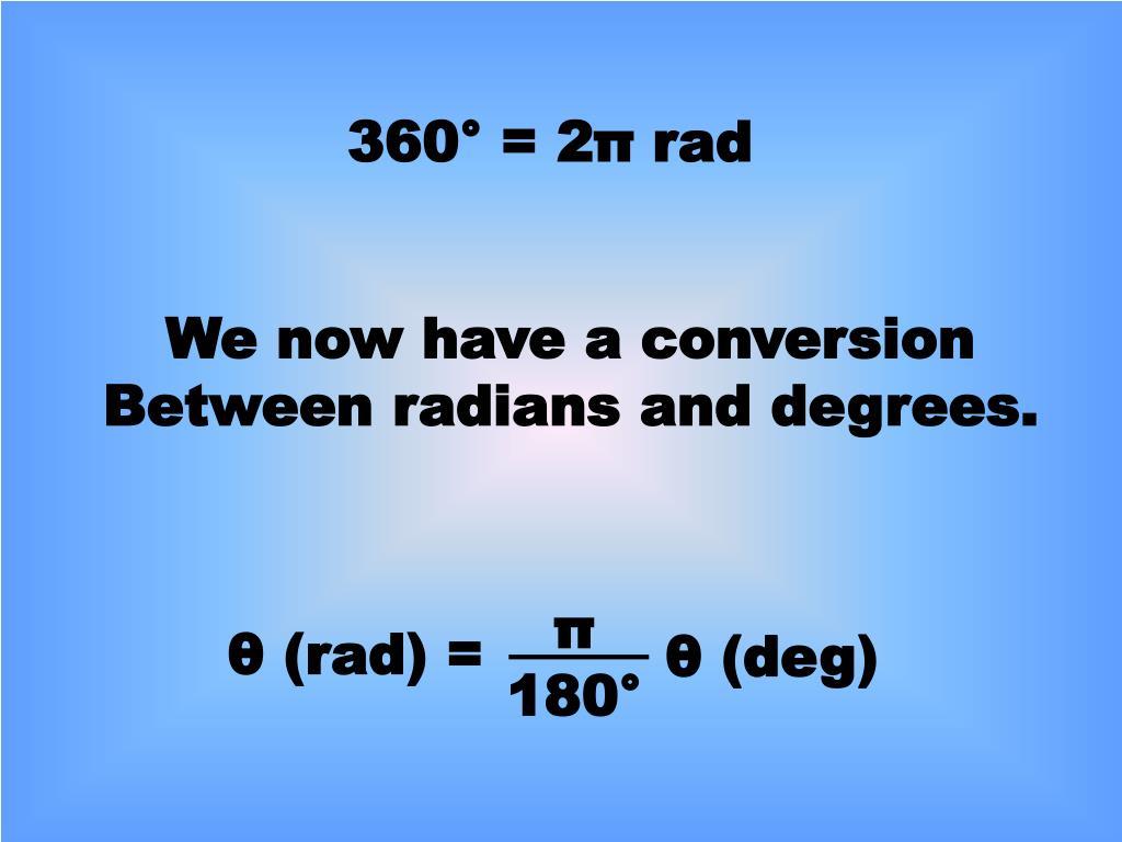 360° = 2