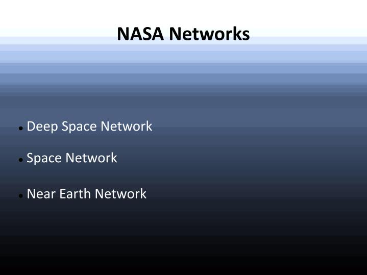Deep space network space network near earth network l.jpg