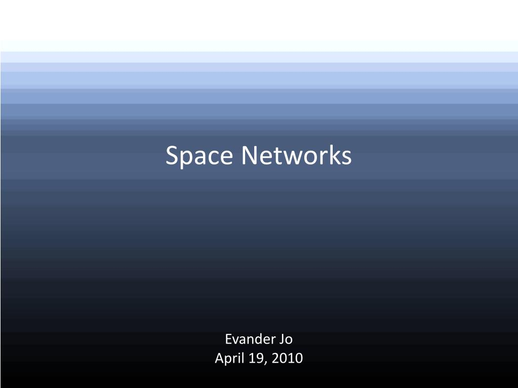 Space Networks