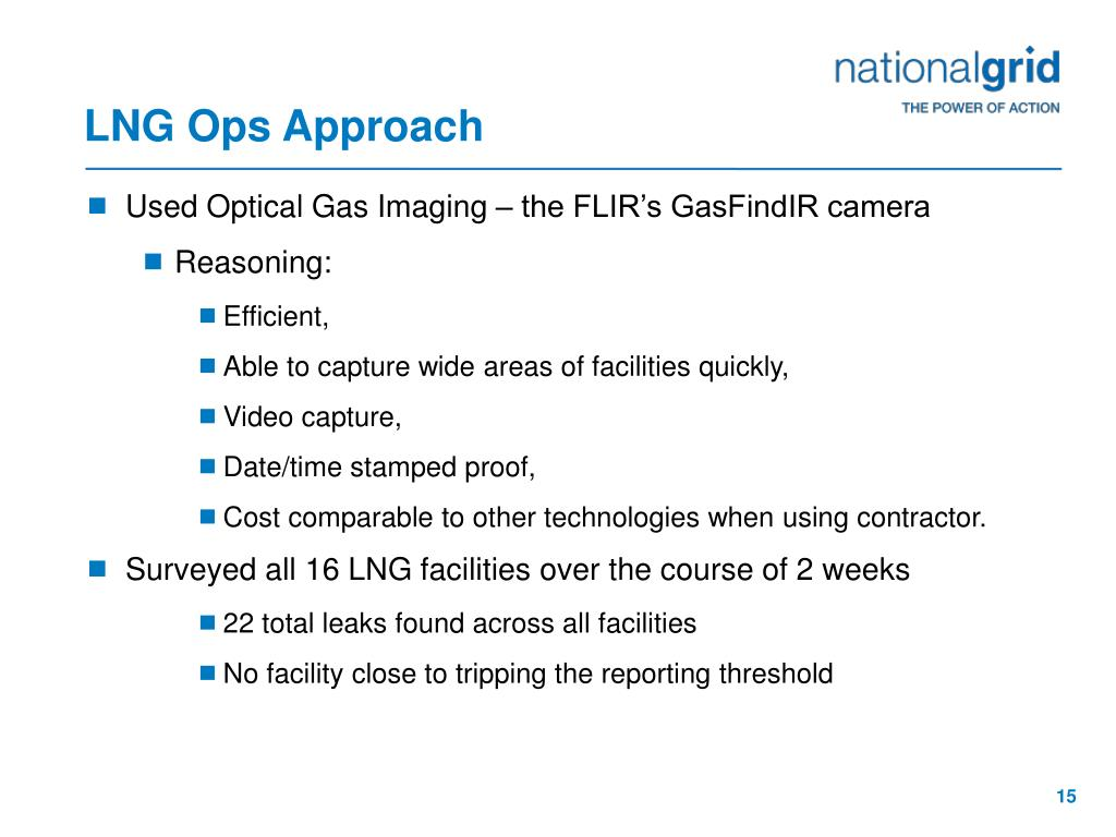 LNG Ops Approach