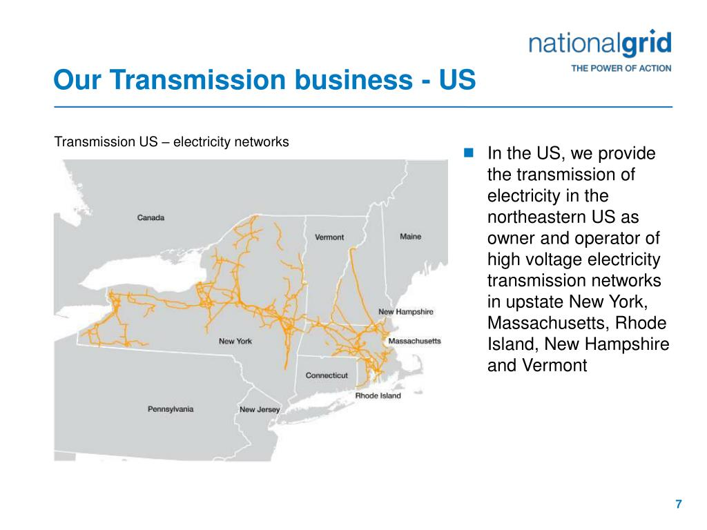 Our Transmission business - US