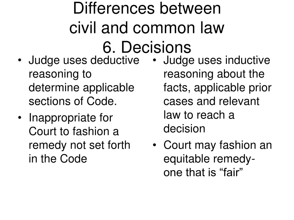 Judge uses deductive reasoning to determine applicable sections of Code.