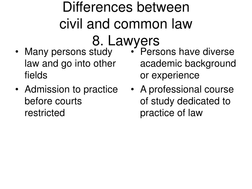 Many persons study law and go into other fields