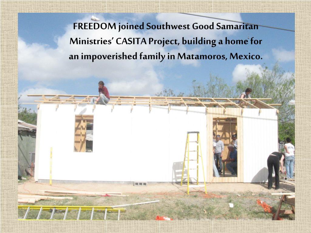 What is Southwest Good Samaritan Ministries?