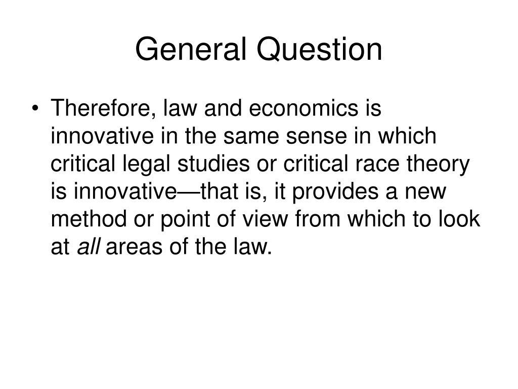 General Question