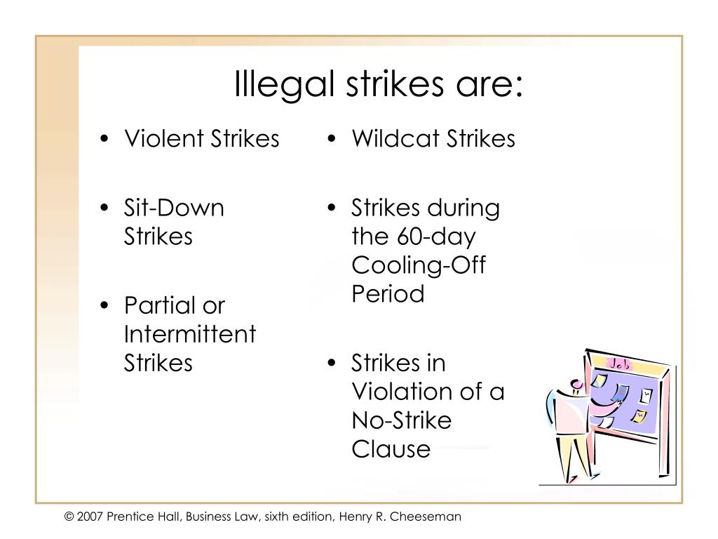 Violent Strikes