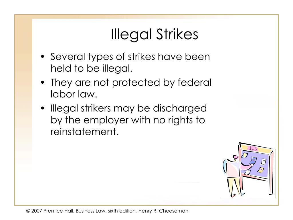 Illegal Strikes