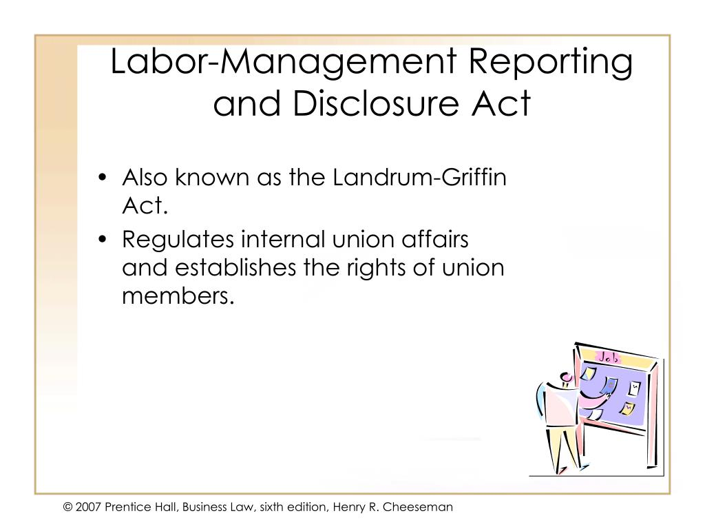 Labor-Management Reporting and Disclosure Act