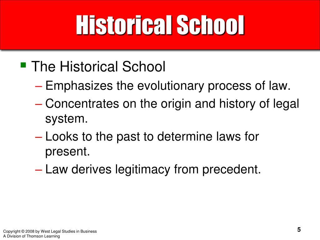 Historical School