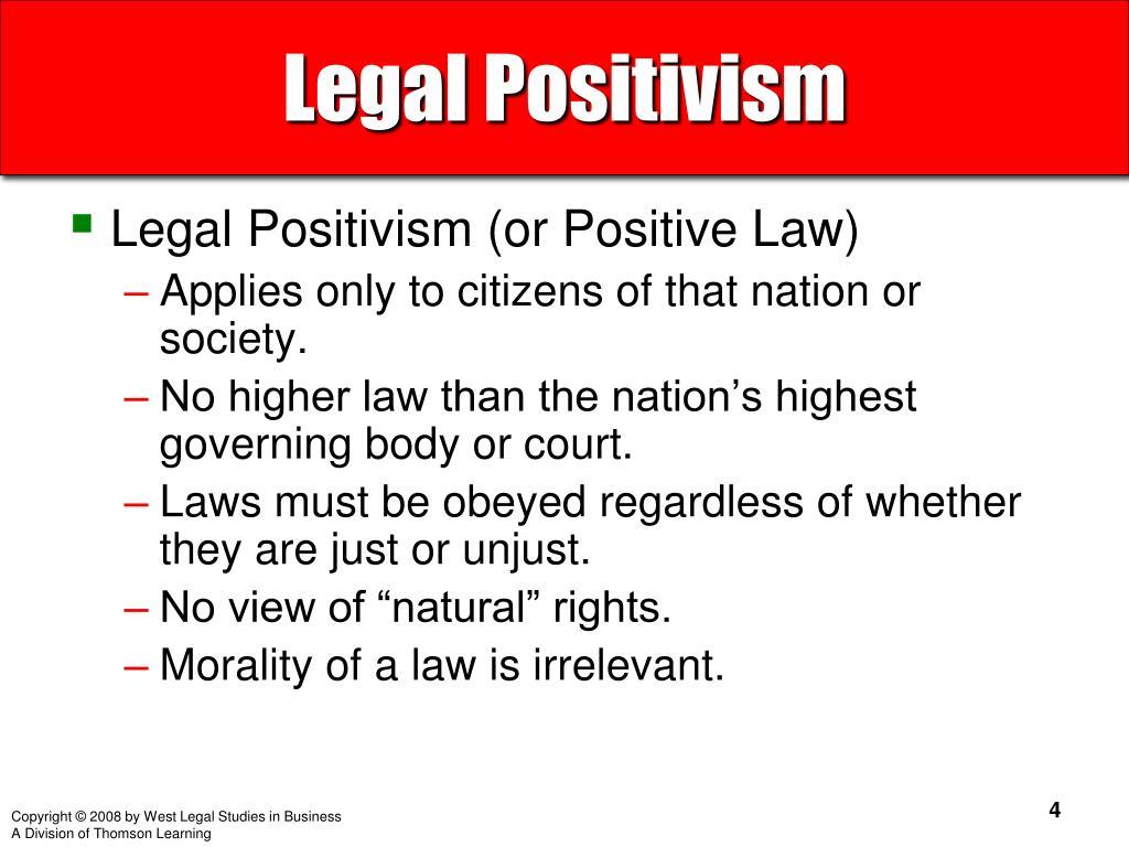 Legal Positivism