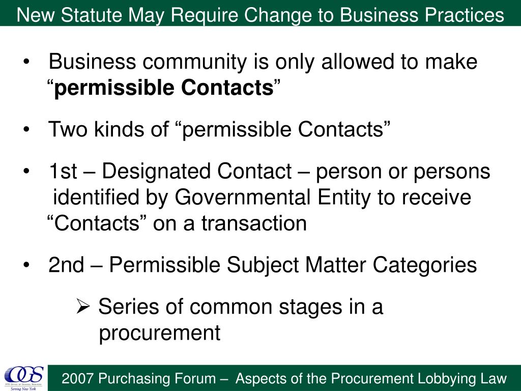 New Statute May Require Change to Business Practices