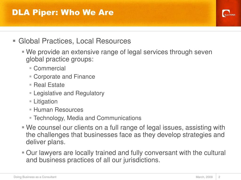 DLA Piper: Who We Are