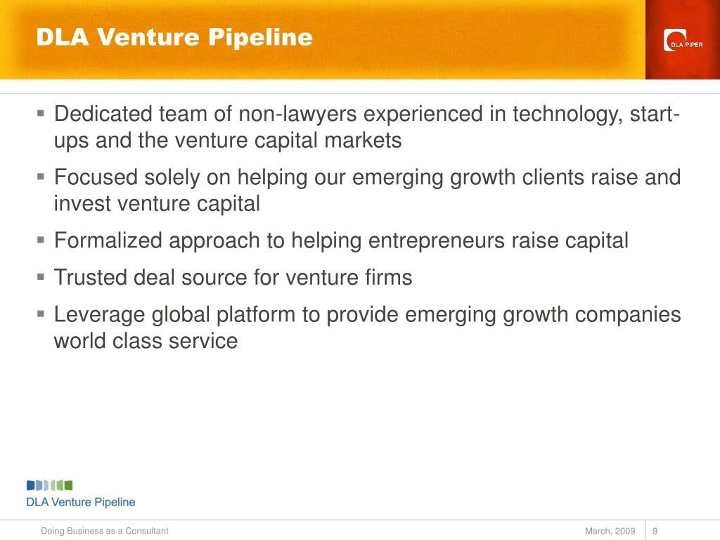 DLA Venture Pipeline