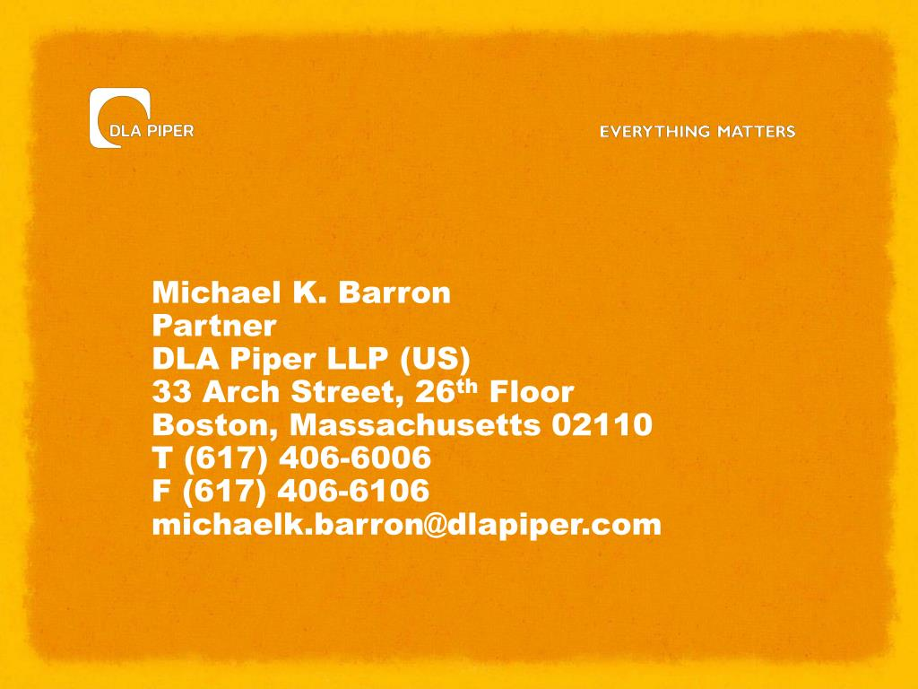 Michael K. Barron
