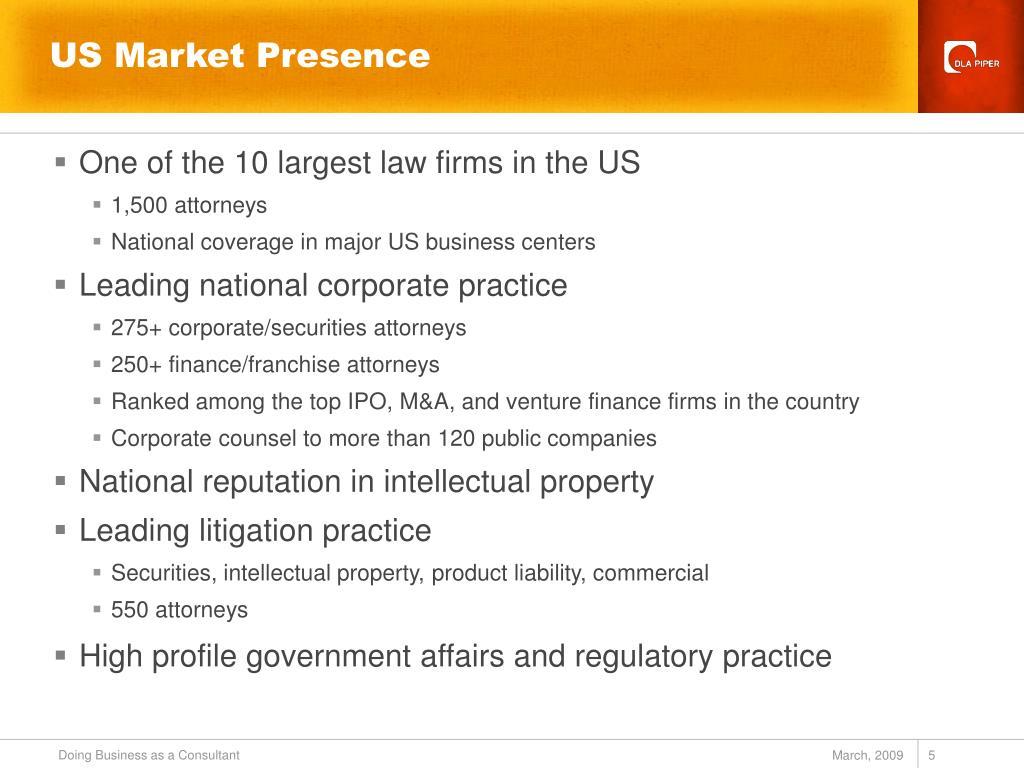 US Market Presence