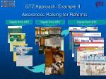 gtz approach example 4