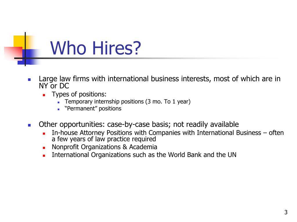 Who Hires?