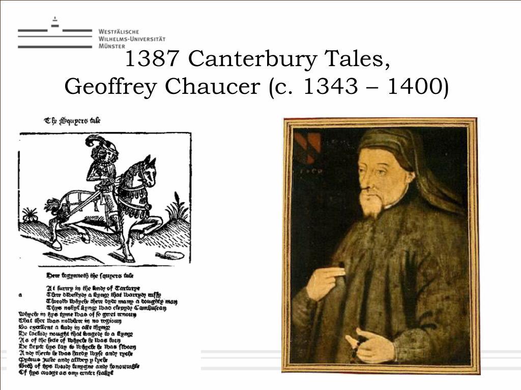 1387 Canterbury Tales,