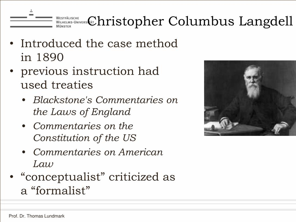 Christopher Columbus Langdell