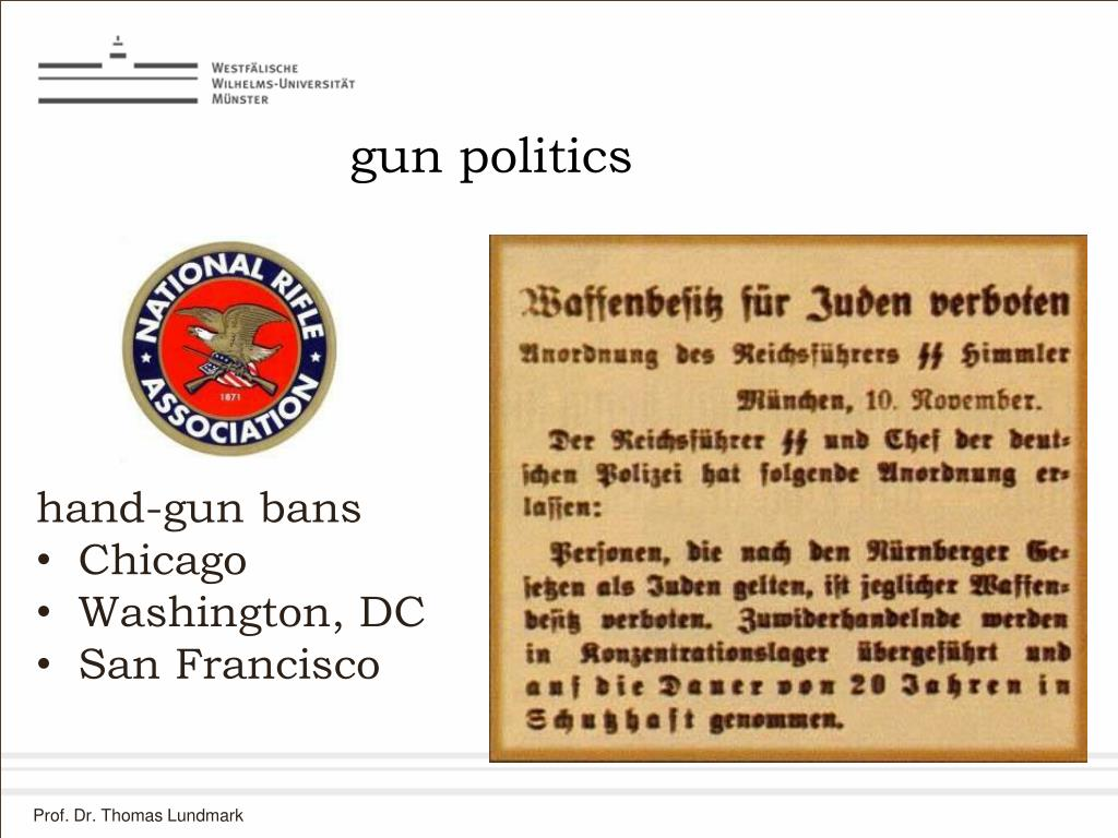 gun politics