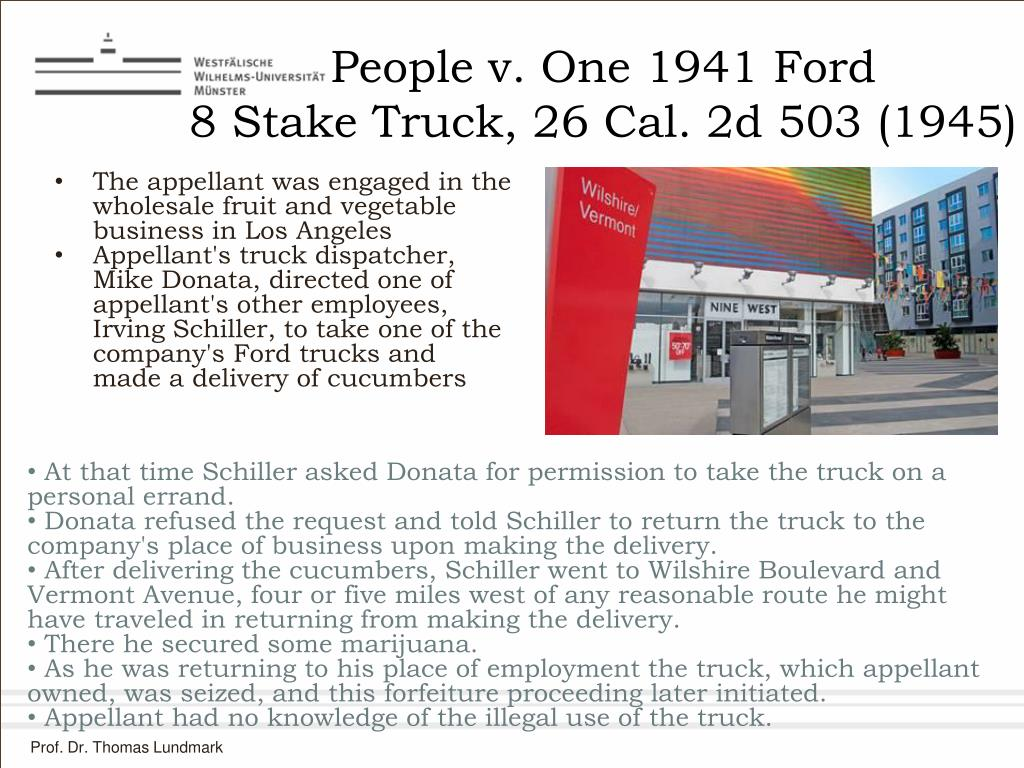 People v. One 1941 Ford