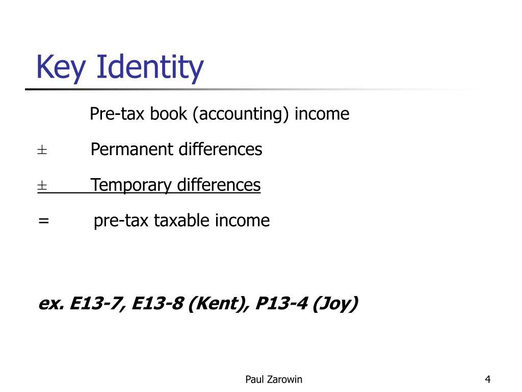 Key Identity
