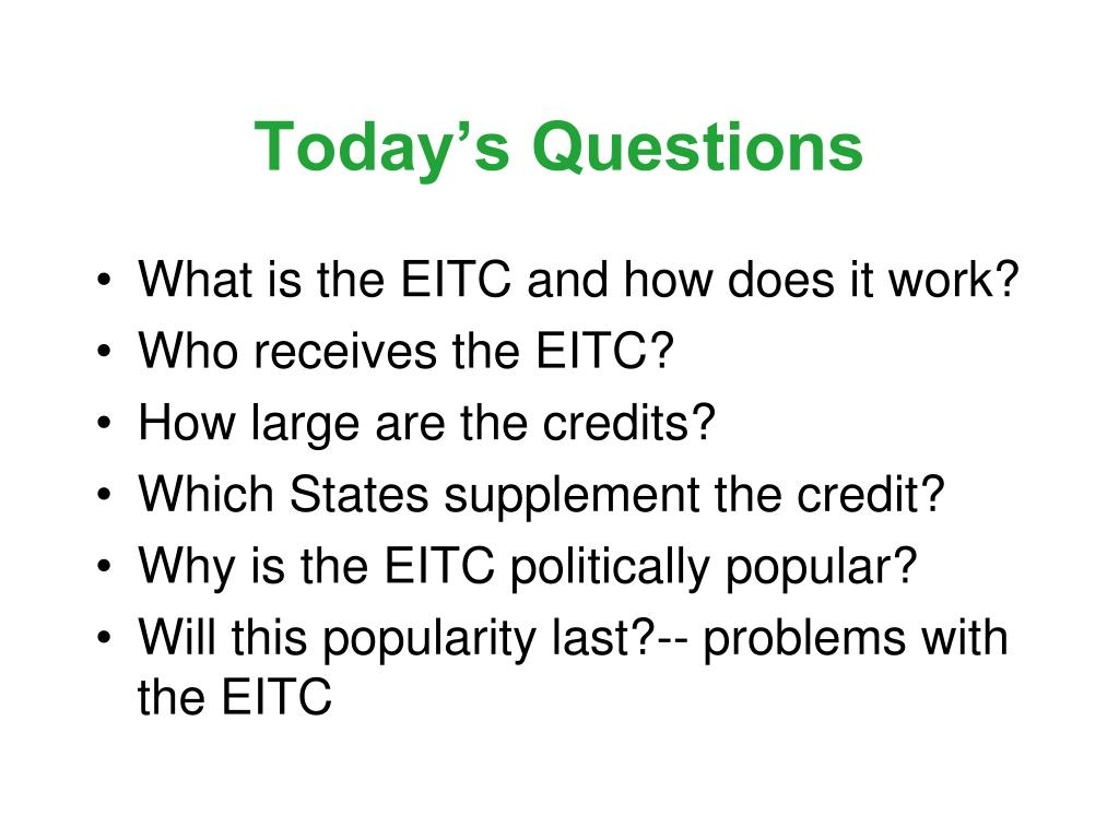 Today's Questions