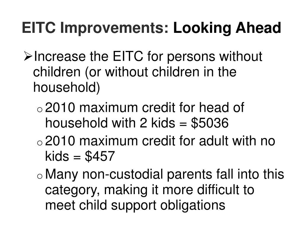 EITC Improvements: