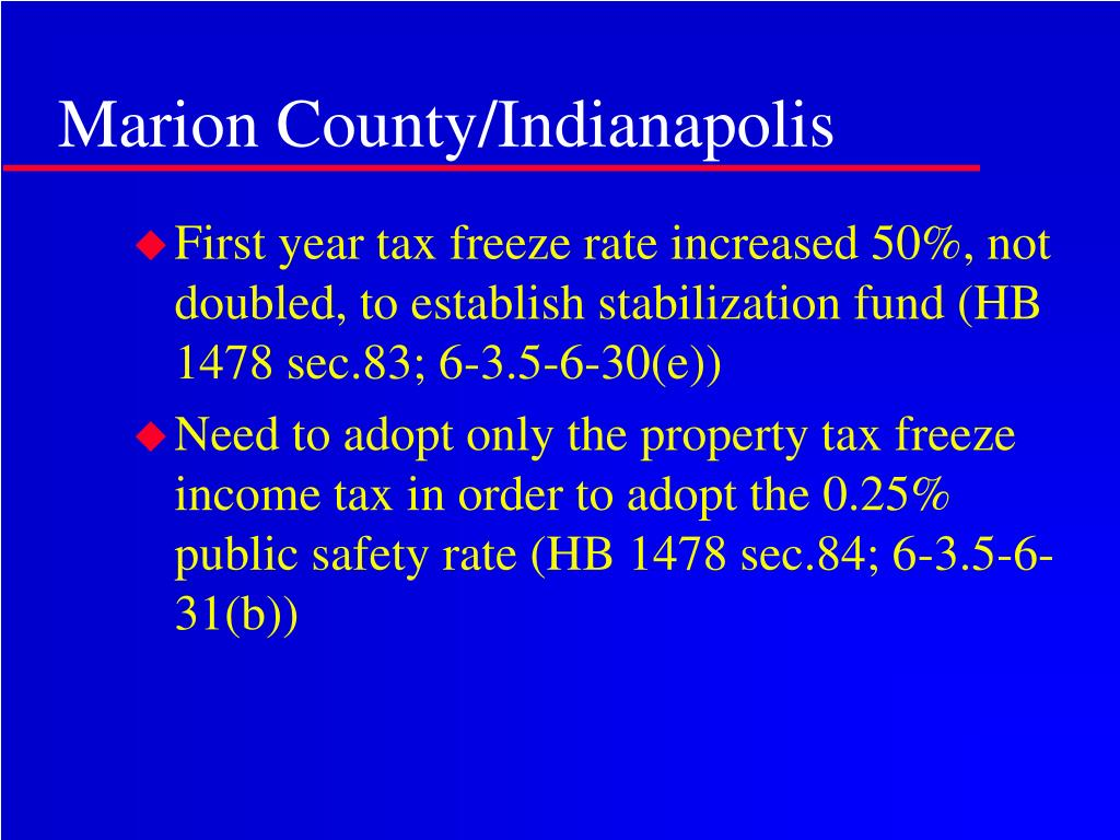 Marion County/Indianapolis